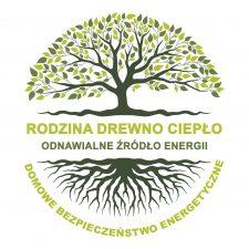 Logo eco drewno gold